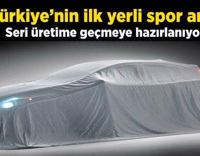 Türkiye'nin ilk yerli spor arabası üretiliyor!