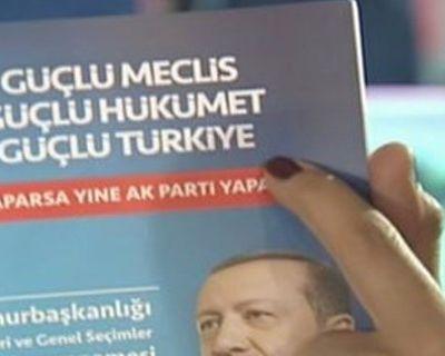 AK Parti'nin seçim beyannamesi 2019