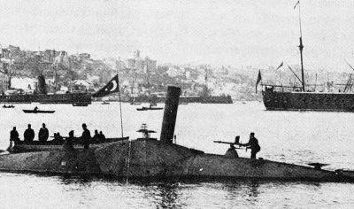 Dünyada ilk denizaltı Osmanlı donanması - 1719